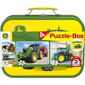 Puzzle-Box - John Deere - 4-in-1
