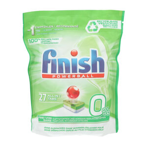 Finish Spülmaschinentabs All-in-1 0 % 27 Stück