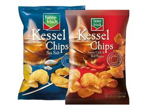 funny-frisch Kessel-Chips