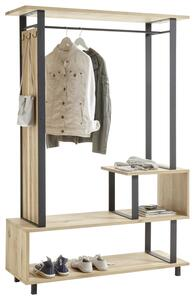 Garderobe in Eiche Echtholz 'Alano'