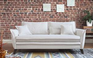 Dreisitzer-Sofa in Beige ´CHARMING CHARLIE ´