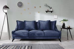 Dreisitzer-Sofa in Dunkelblau ´ROYAL ROSE B:225CM DUNKELBLAU