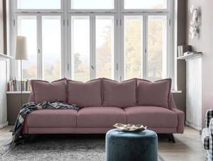 Dreisitzer-Sofa in Altrosa ´ROYAL ROSE B: 225CM ALTROSA´