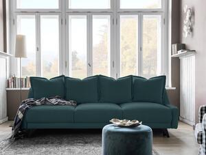 Dreisitzer-Sofa in Türkis ´ROYAL ROSE B: 225 CM TÜRKIS´