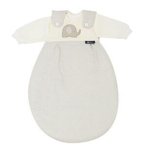 Alvi Babyschlafsackset , 44533-323-6 Baby-Mäxchen , Taupe, Beige , Textil , Elefant , Jersey,Jersey , 004507000401