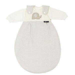 Alvi Babyschlafsackset , 44523-323-6 , Taupe, Beige , Textil , Elefant , Jersey,Jersey , 004507001301