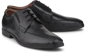 Drievholt, Schnürschuh in schwarz, Schnürschuhe für Herren