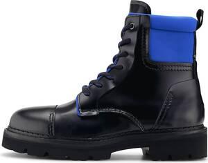 Tommy Jeans, Schnürboot Fashion Pop Colour Boot in schwarz, Boots für Herren