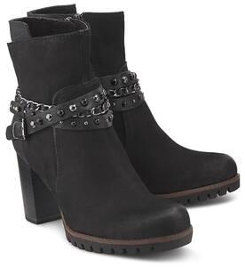MARCO TOZZI, Trend-Stiefelette in schwarz, Stiefeletten für Damen