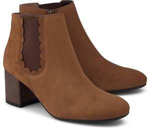 Paul Green, Chelsea-Stiefelette in mittelbraun, Boots für Damen