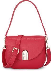 Furla, Umhängetasche Sleek Mini Crossbody in rot, Umhängetaschen für Damen