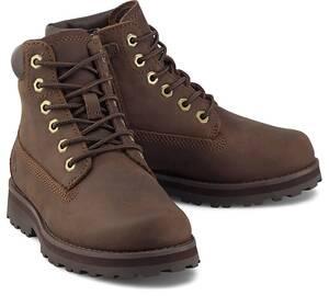 """Timberland, Boots Courma Kid Traditional 6"""" in dunkelbraun, Stiefel für Jungen"""