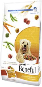 Beneful Zarte Leckerbissen reich an Fleisch mit Gemüse Hundefutter trocken 1,4 kg
