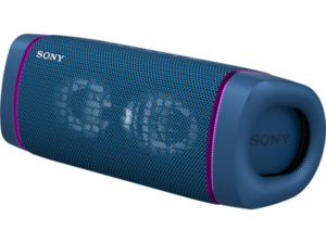 SONY SRS-XB33 tragbar, kabellos, Lautsprecherbeleuchtung, EXTRA BASS Bluetooth Lautsprecher,  Blau