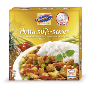 Wingert Foods Huhn Süss Sauer 375 g