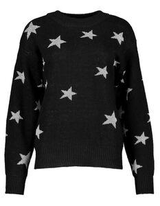 Damen Pullover mit Sternen-Muster