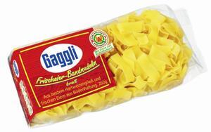 Gaggli Frischeier-Bandnudeln breit 12mm 250 g