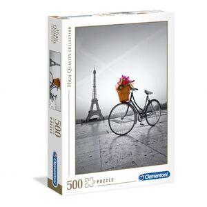 Puzzle - Romantische Promenade in Paris - 500 Teile
