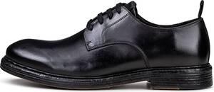 Another A, Leder-Schnürer in schwarz, Business-Schuhe für Herren