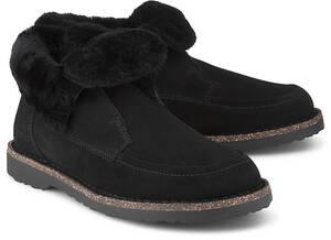 Birkenstock, Winter-Boots Bakki in schwarz, Boots für Damen