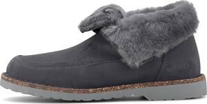 Birkenstock, Winter-Boots Bakki in dunkelgrau, Boots für Damen