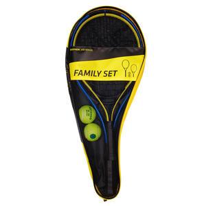 Tennis Set Family Duo 2 Schläger 2 Bälle 1 Husse