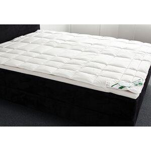 home24 Badenia Spannauflage Clean Cotton 180x200 cm (BxT) 100% Baumwolle Weiß