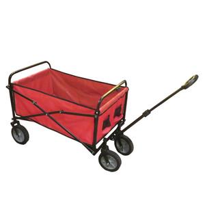 Bollerwagen faltbar grau oder rot