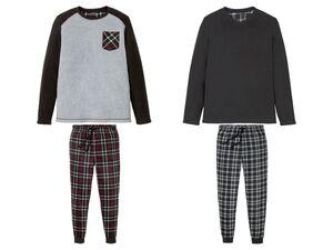 LIVERGY® Pyjama Herren, mit Eingrifftaschen