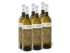 6 x 0,75-l-Flasche Seramaris Vermentino Terre Siciliane IGT trocken, Weißwein