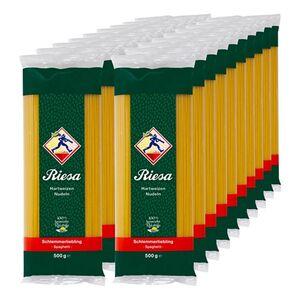 Riesa Schlemmerliebling Spaghetti 500 g, 20er Pack