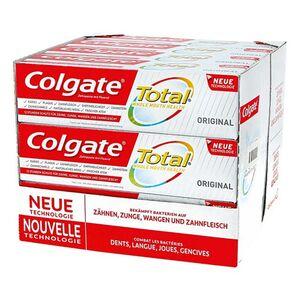 Colgate Zahncreme Total Original 75 ml, 12er Pack