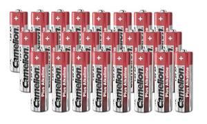 Plus Alkaline Mignon (AA) Batterie - 24 Stück