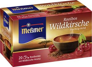 Meßmer Tee Rooibos Wildkirsche 20ST 40G