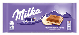 Milka Alpenmilch-Creme Schokolade 100 g