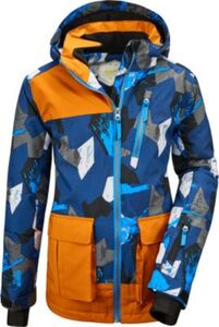 Skijacke FLUMET  (recycelt) braun Gr. 176 Jungen Kinder