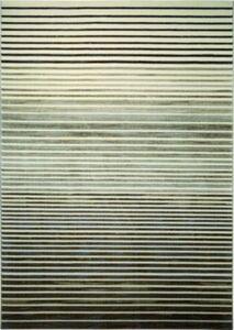 Teppichart Nifty Stripes braun Gr. 133 x 200