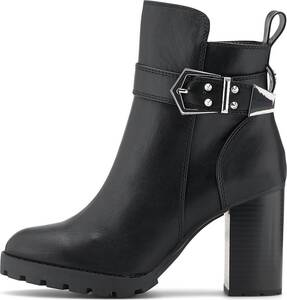 Buffalo, Stiefelette Melany in schwarz, Stiefeletten für Damen