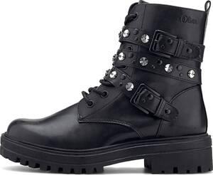 s.Oliver, Winter-Boots in schwarz, Stiefel für Damen