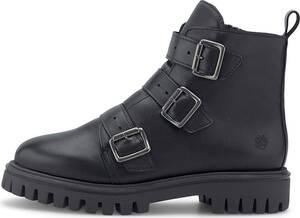 Apple of Eden, Schnallen-Boots Rayka in schwarz, Stiefeletten für Damen