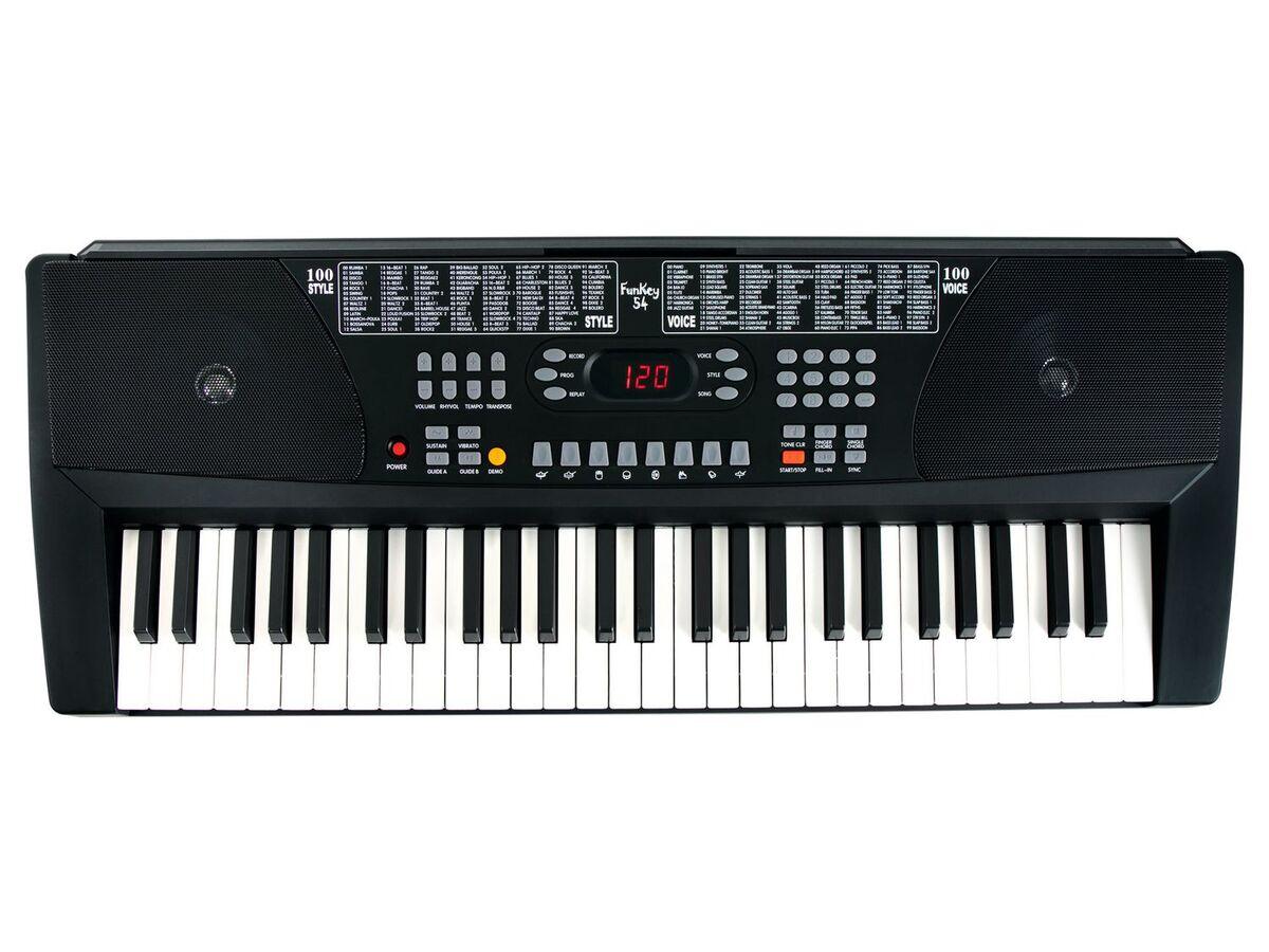 Bild 3 von FunKey 54 Keyboard SET inkl. Keyboardständer + Bank