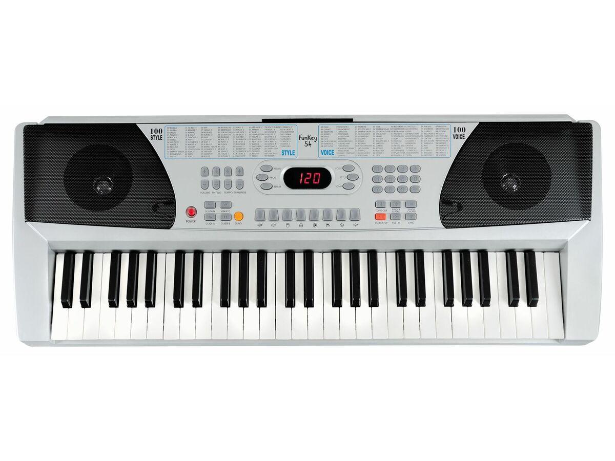 Bild 10 von FunKey 54 Keyboard SET inkl. Keyboardständer + Bank