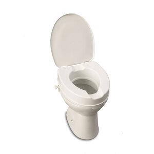 Toilettensitzerhöhung mit Deckel 15 cm