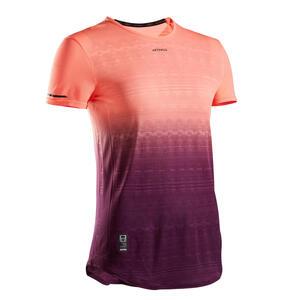Tennisshirt Light 990 Damen malve/korallenrot