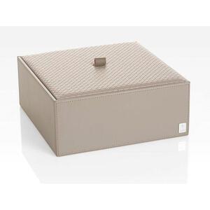 Joop! Box mit deckel , Joop! Homeline , Grau , Kunststoff , 25x9.5x25 cm , 007645011403