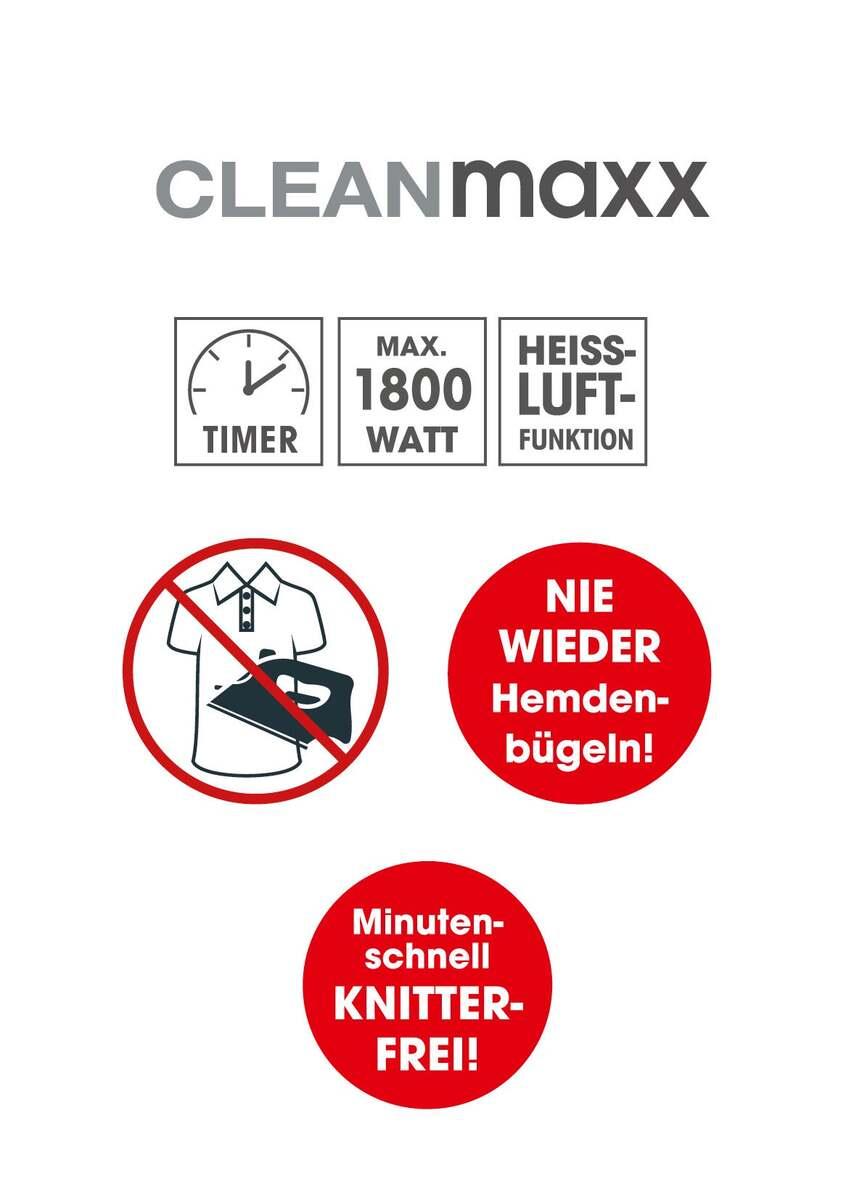 Bild 5 von CLEANmaxx Hemden- & Blusenbügler