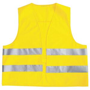 Warnweste EN ISO 20471 in gelb
