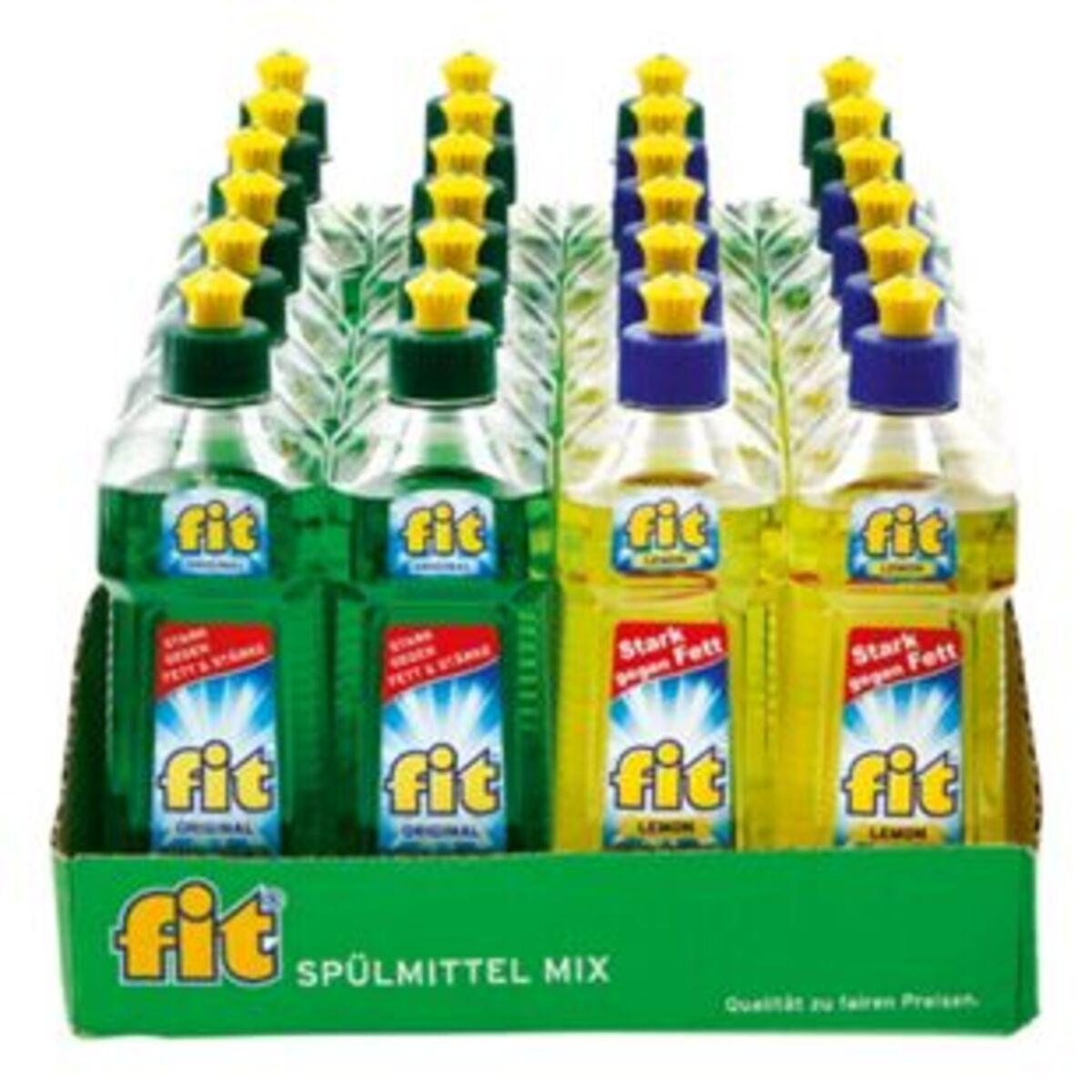 Bild 2 von Fit Spülmittel verschiedene Sorten 500 ml, 24er Pack