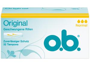 o.b.Original Tampons Normal 32ST