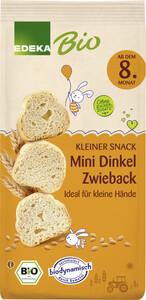 EDEKA Dinkel Mini Zwieback für Babys ab dem 8.Monat 100G